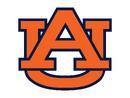 Auburn Tigers Alternate Orange AU Logo 2