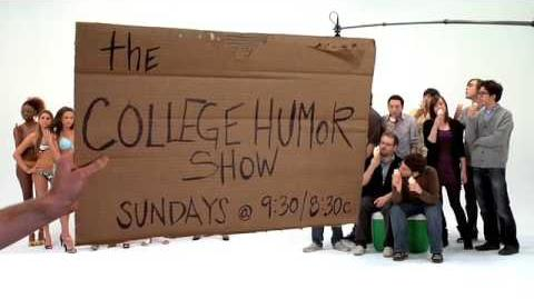 The CollegeHumor Show Promo Ice Cream & Models