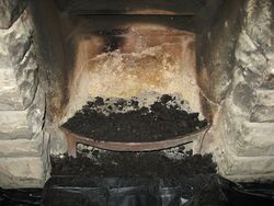 Soot in Fireplace