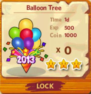 Balloon Tree