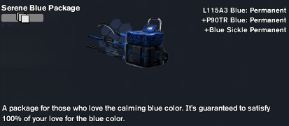 Serene Blue Package (The Arsenal)