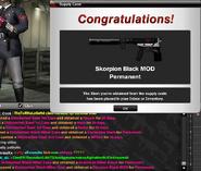 SKorpion black mod