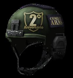 2nd Anniversary Helmet BR