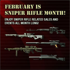 Sniper Rifle Month
