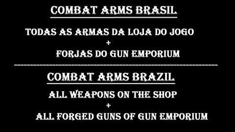 Combat Arms Brasil Lista de Todas as Armas Disponíveis (Loja & Gun Emporium)