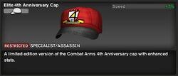 Elite 4th anni. Cap