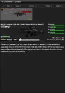M419 Combat CQB SE CAMO Black MOD LE MARK II Shop Item