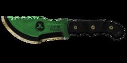 Tracker Knife First Green