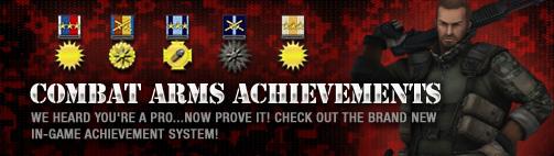 Combat Arms Achievement banner