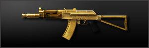 Main AK-74U Gold-Plated