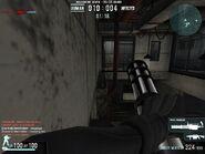 Sprinting with the M134 Minigun