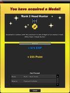 Rank 2 Head Hunter