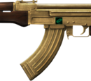 Visionary AK-47 Gold-Plated