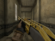 SPAS-12 Gold Engraving