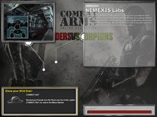 NEMEXIS LAB title page