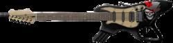 Black Skull Guitar Gun High Resolution