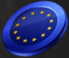 Europe Month Coin Item