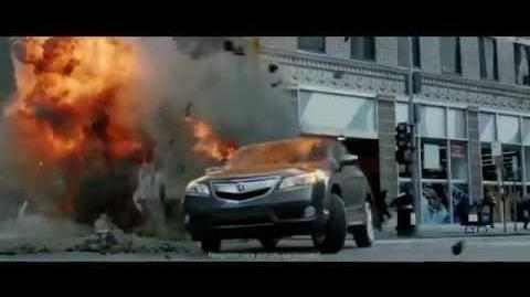 Acura RDX Avengers commercial