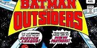 DC COMICS: DC Animated Universe (Batman & Outsiders)
