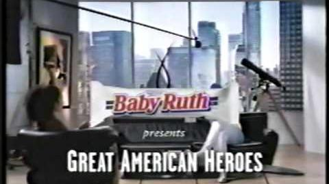 "Nestle' Baby Ruth ""The Blur"" Commercial 1997 (30 sec & 60 sec"
