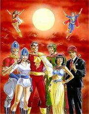 Marvel family shazam squadron