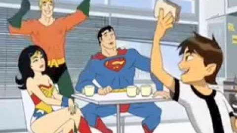 Ben 10 and the Justice League