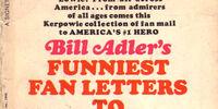 DC COMICS: 1966 Bill Adler's Funniest Fan Letters To Batman