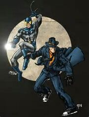Blue beetle & question