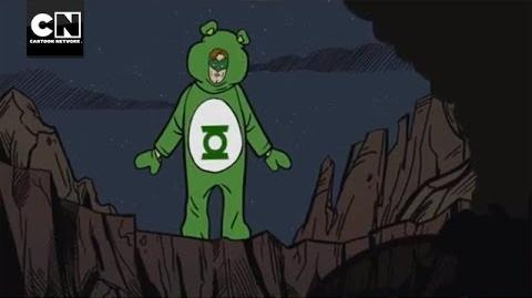 Green Care Bear MAD Cartoon Network