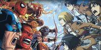 MARVEL COMICS: Attack on Titan vs Avengers