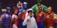 MARVEL COMICS: The Avengers (Got Milk?)
