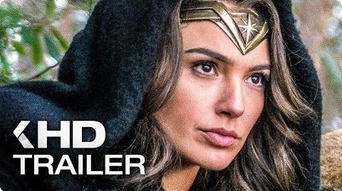 WONDER WOMAN ALL Trailer & Clips (2017)