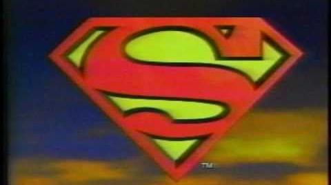 Vintage 1996 Superman Action Figure Commercial