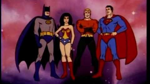 ALL of the SUPERFRIENDS opening Theme songs from 1973 - 1985-0