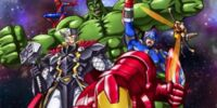 MARVEL COMICS: Marvel Disk Wars The Avengers (s1 ep 12 The Unstoppable Juggernaut!)