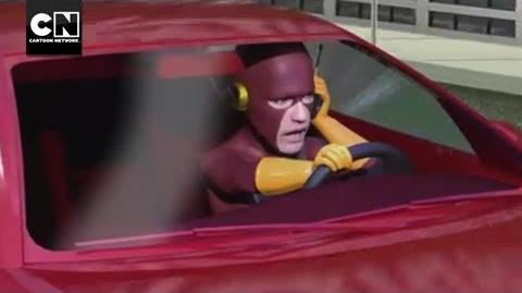 The Flash and the Furious MAD Cartoon Network