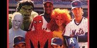 MARVEL COMICS: New Warriors (Wedding of Spider-Man at Mets)