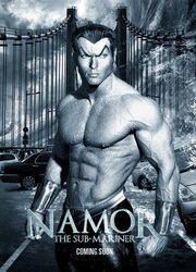 Namor fan art