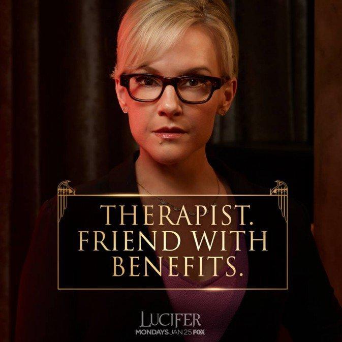 VERTIGO COMICS: Fox's Lucifer Bio Dr. Linda Martin