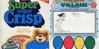 DC COMICS: Super Friends Post Cereal Create a Super-Villain Contest