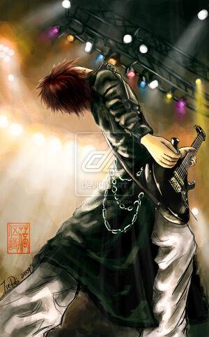 Guitarist by tsepei