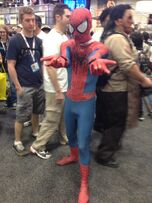 SDCCmarveldatabase spidermancosplay