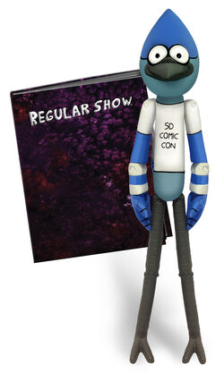 Mordecai exclusive toy