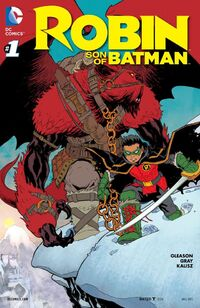 Robin Son of Batman 1