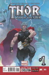 Thor God of Thunder 1