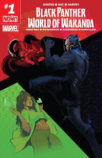Black Panther World of Wakanda 1
