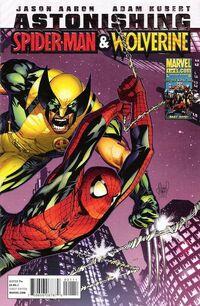 Astonishing Spider-Man Wolverine 1