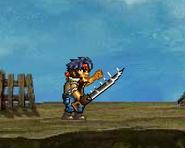 Using the Commando Sword