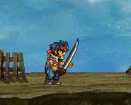 Holding the Commando Sword