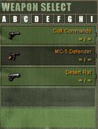 Weapon Category C